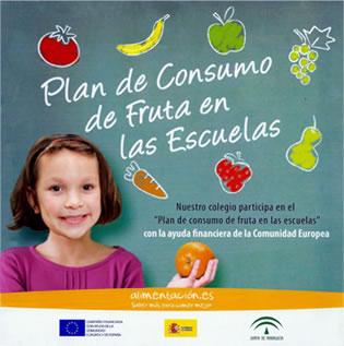 Carte del Plan de Consumo de Fruta en las Escuelas